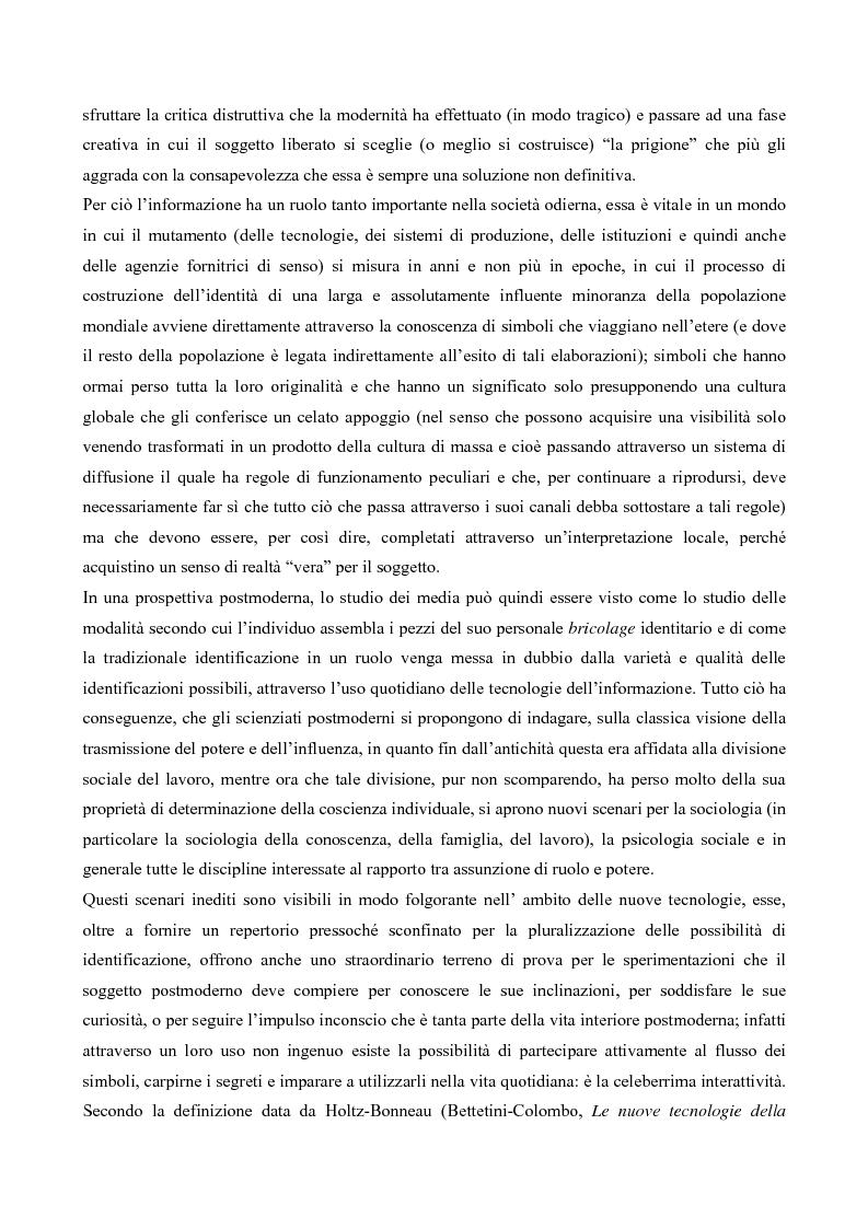 Anteprima della tesi: L' interazione in irc, Pagina 13