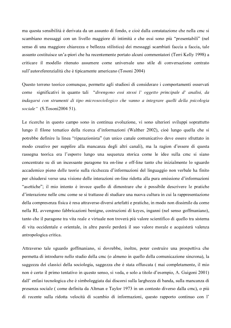 Anteprima della tesi: L' interazione in irc, Pagina 5