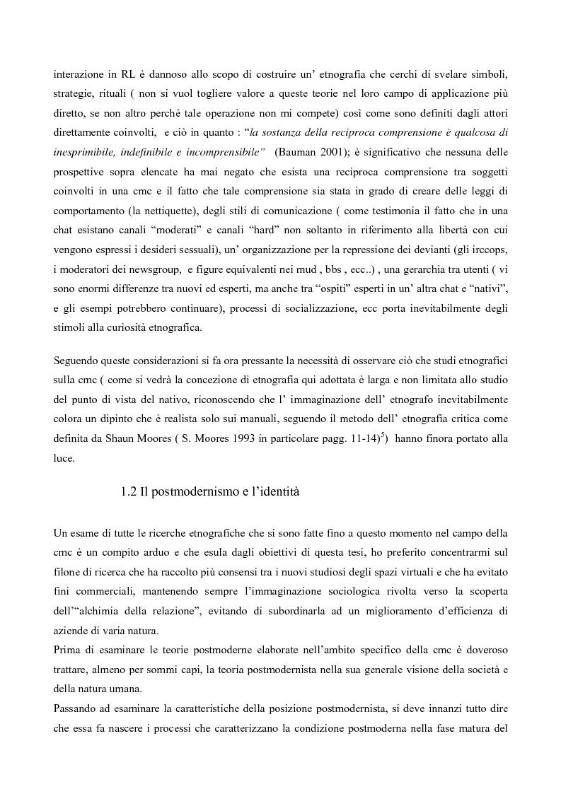 Anteprima della tesi: L' interazione in irc, Pagina 6