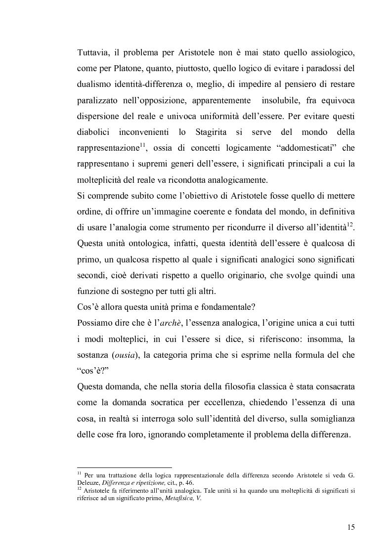 Anteprima della tesi: Tre riletture del pensiero di Spinoza nella filosofia contemporanea: G. Deleuze, A. Negri, E. Balibar, Pagina 14