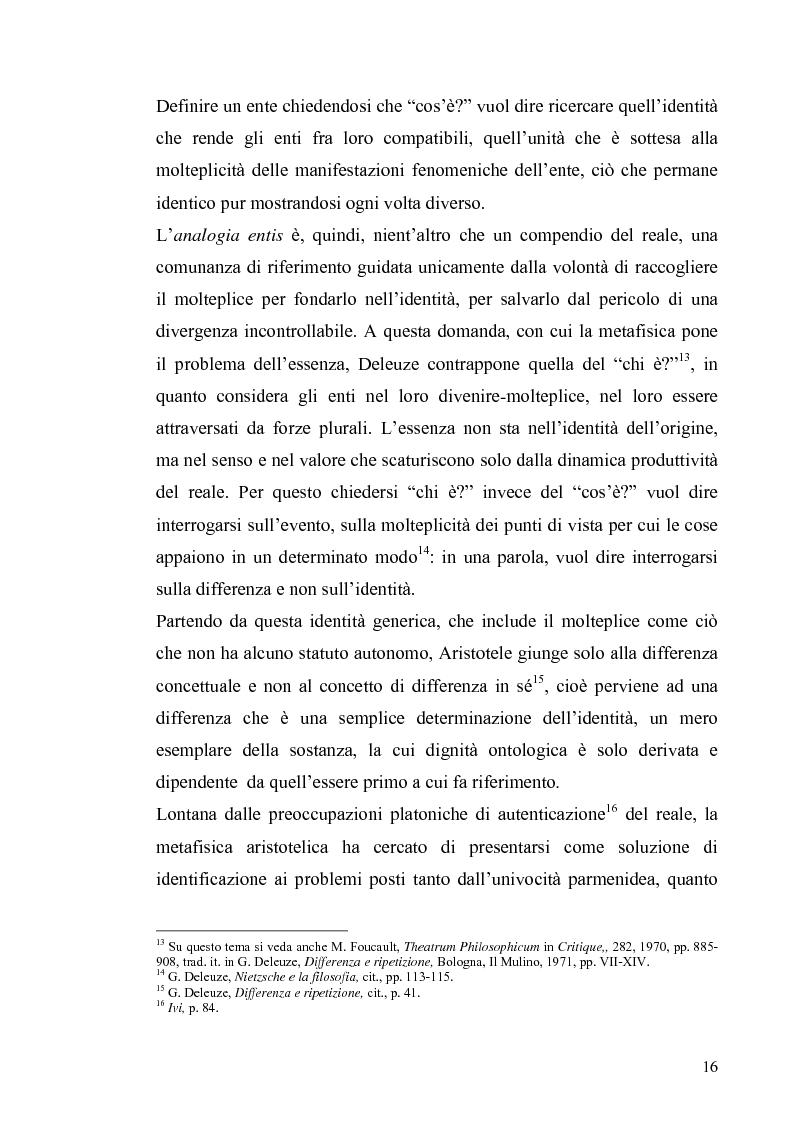 Anteprima della tesi: Tre riletture del pensiero di Spinoza nella filosofia contemporanea: G. Deleuze, A. Negri, E. Balibar, Pagina 15
