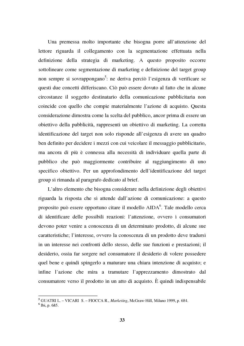 Anteprima della tesi: La programmazione e il controllo di una campagna pubblicitaria, Pagina 12