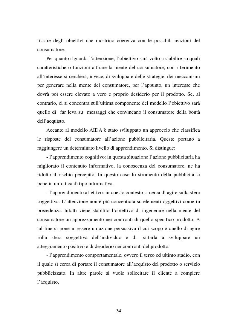 Anteprima della tesi: La programmazione e il controllo di una campagna pubblicitaria, Pagina 13