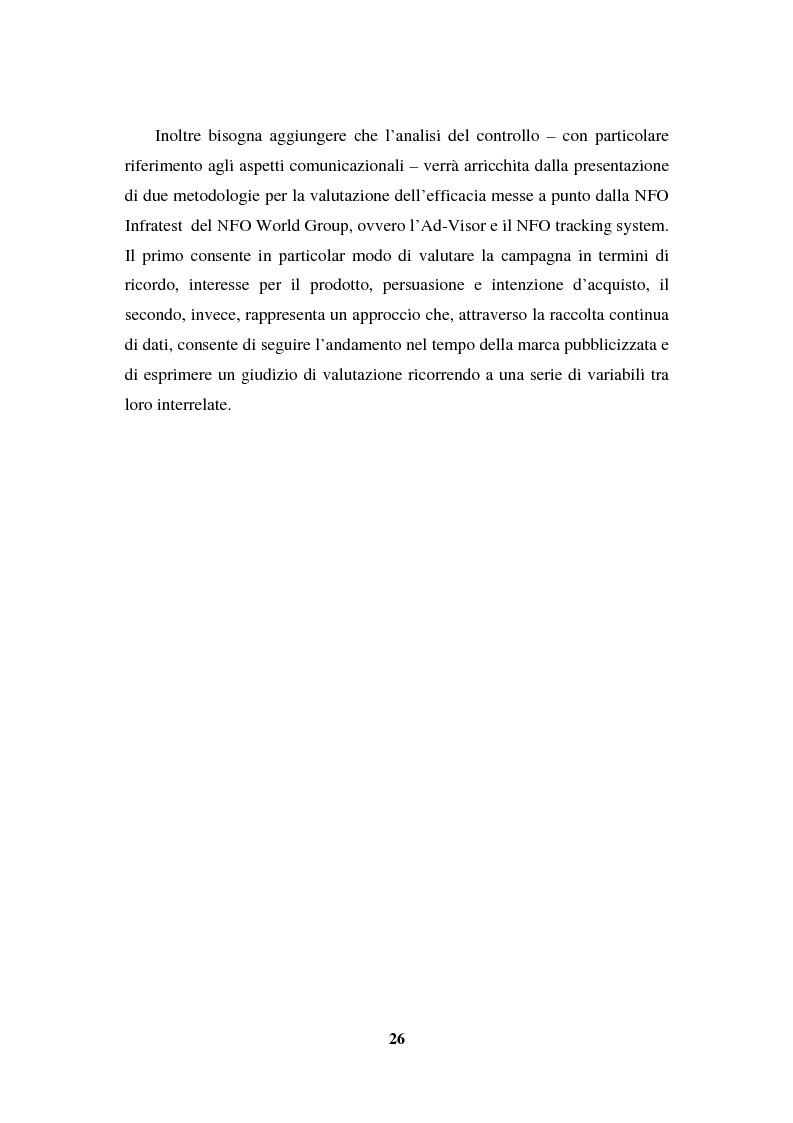 Anteprima della tesi: La programmazione e il controllo di una campagna pubblicitaria, Pagina 5