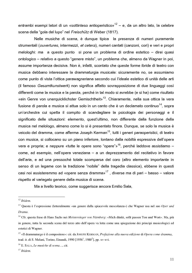 """Anteprima della tesi: """"La tragédienne du silence"""". Ida Rubinstein e le musiche di scena per """"La Pisanelle"""" di Gabriele d'Annunzio, Pagina 11"""