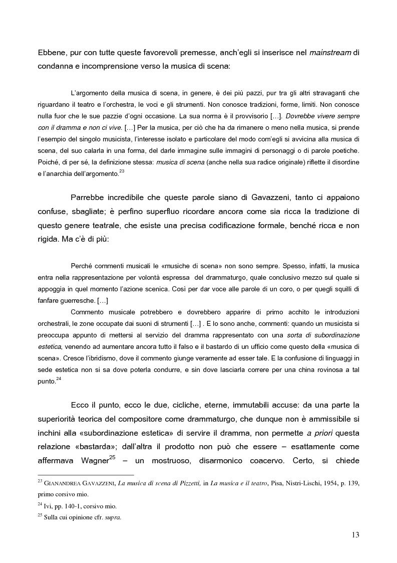 """Anteprima della tesi: """"La tragédienne du silence"""". Ida Rubinstein e le musiche di scena per """"La Pisanelle"""" di Gabriele d'Annunzio, Pagina 13"""