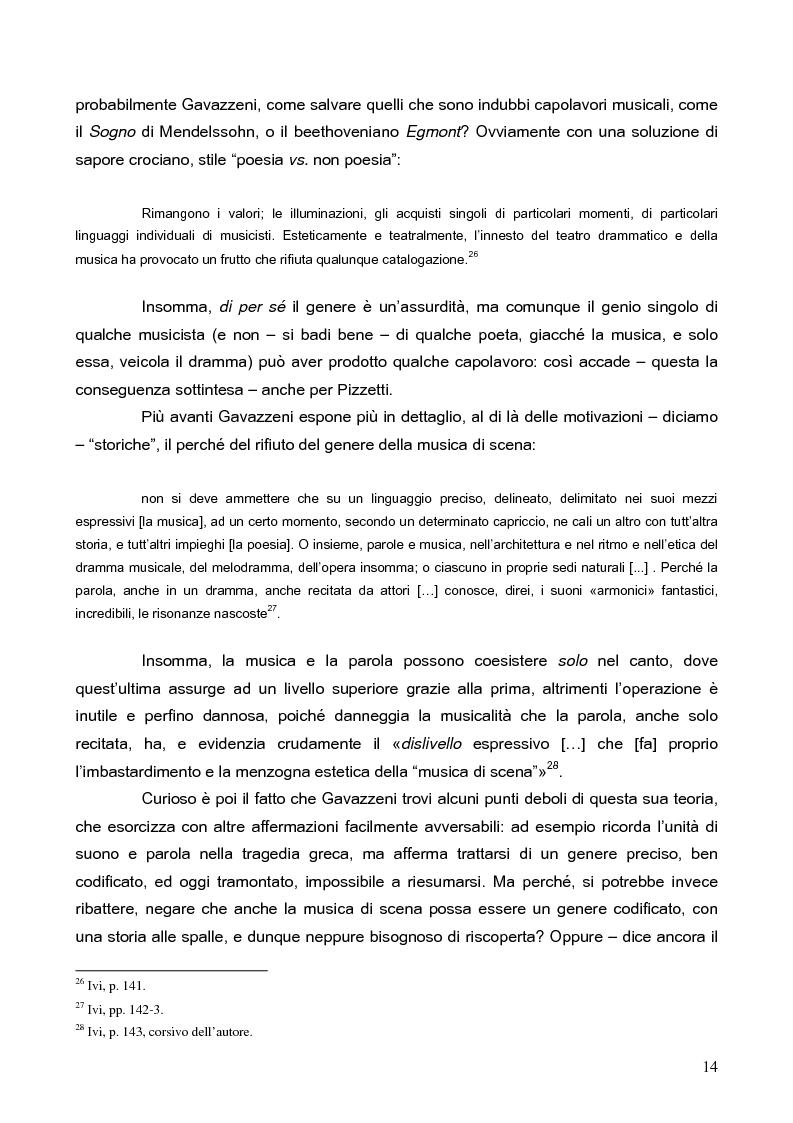 """Anteprima della tesi: """"La tragédienne du silence"""". Ida Rubinstein e le musiche di scena per """"La Pisanelle"""" di Gabriele d'Annunzio, Pagina 14"""
