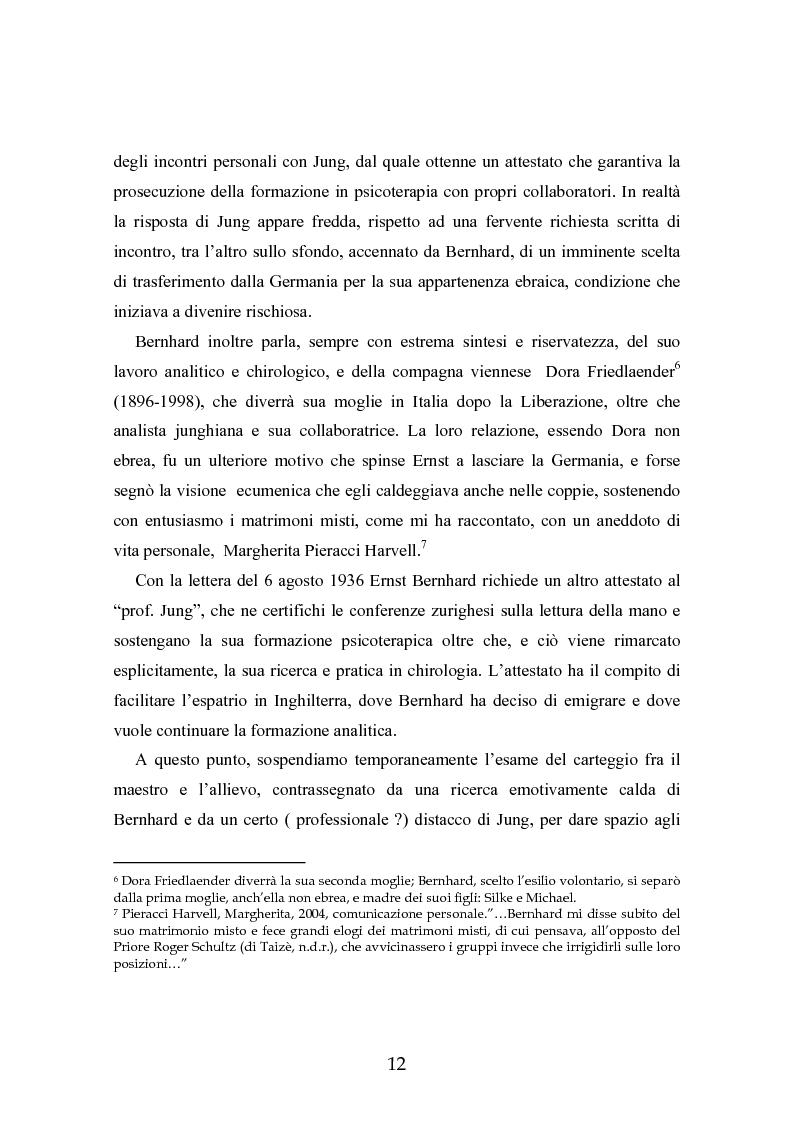 Anteprima della tesi: Ernst Bernhard (1896-1965): un ''maestro scomodo''della psicologia del profondo, Pagina 10