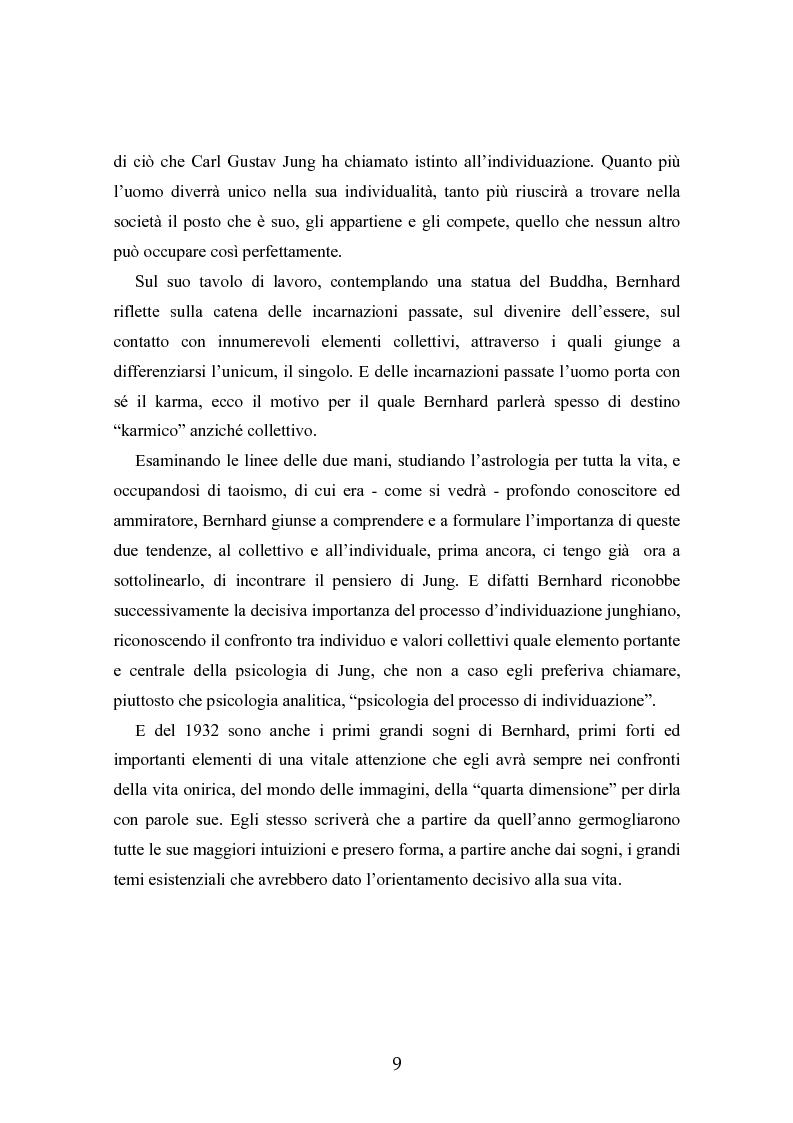 Anteprima della tesi: Ernst Bernhard (1896-1965): un ''maestro scomodo''della psicologia del profondo, Pagina 7
