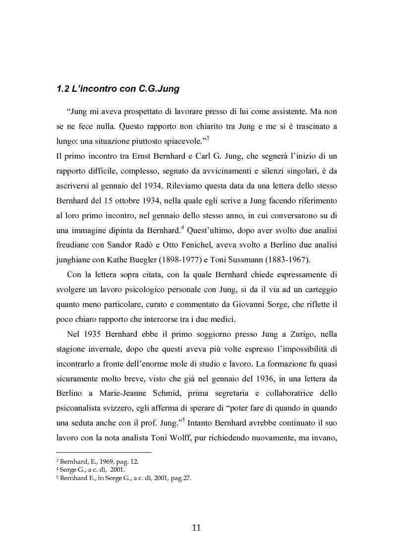 Anteprima della tesi: Ernst Bernhard (1896-1965): un ''maestro scomodo''della psicologia del profondo, Pagina 9
