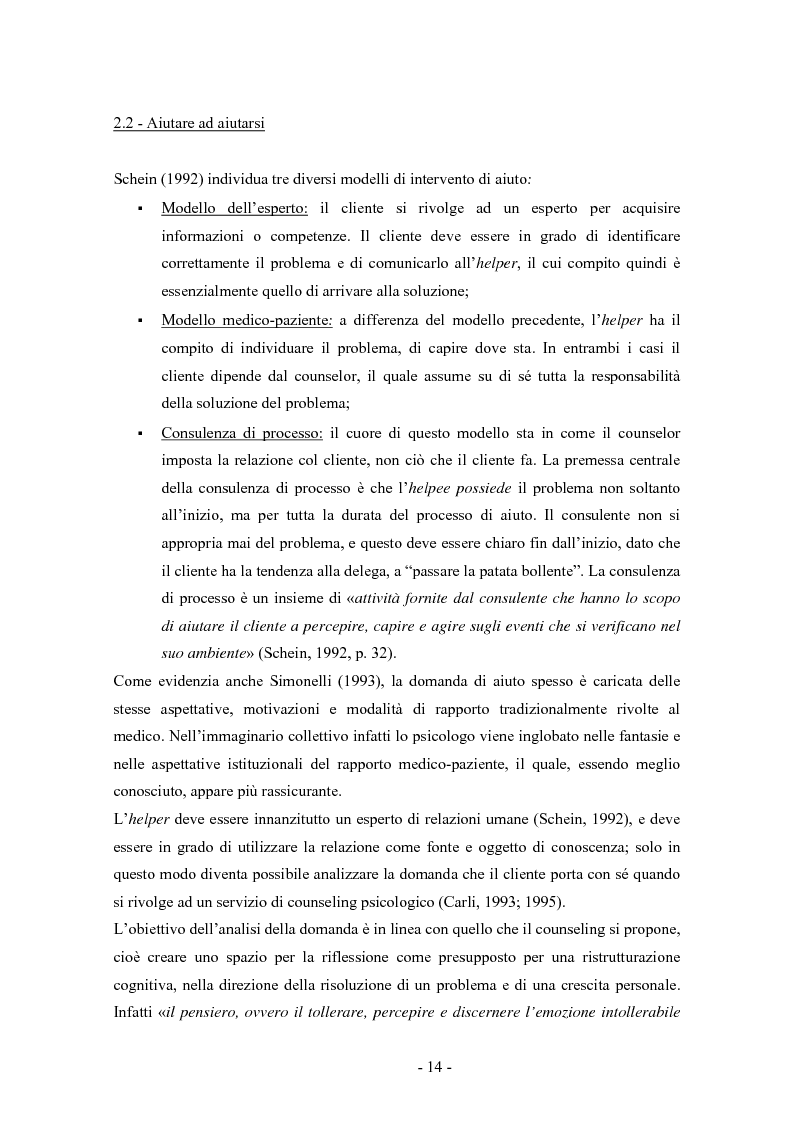 Anteprima della tesi: SMS e relazione d'aiuto: il caso di @gile, un servizio d'ascolto, Pagina 10