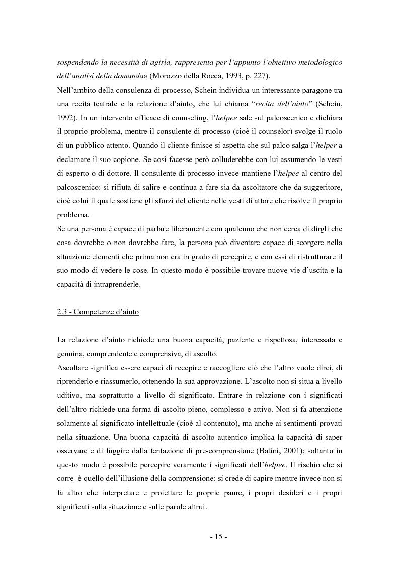 Anteprima della tesi: SMS e relazione d'aiuto: il caso di @gile, un servizio d'ascolto, Pagina 11