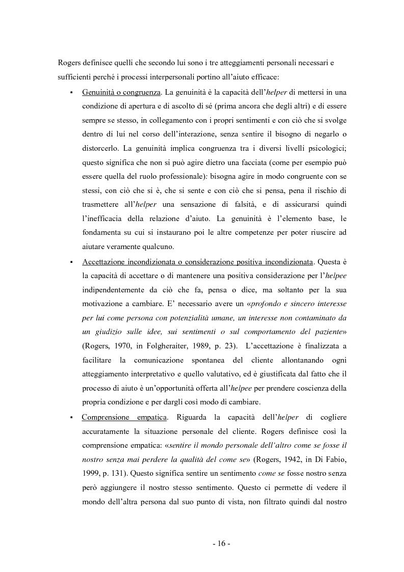 Anteprima della tesi: SMS e relazione d'aiuto: il caso di @gile, un servizio d'ascolto, Pagina 12