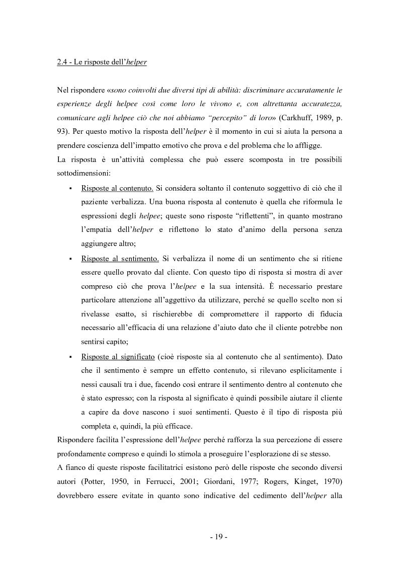 Anteprima della tesi: SMS e relazione d'aiuto: il caso di @gile, un servizio d'ascolto, Pagina 15