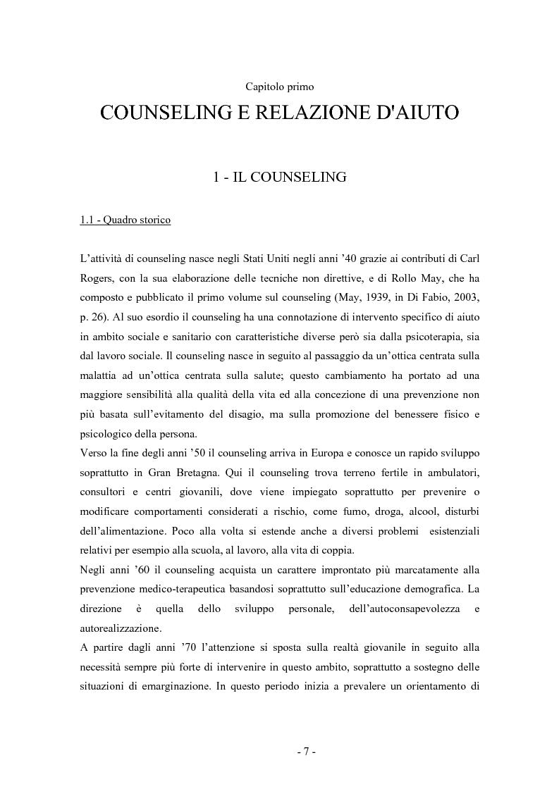 Anteprima della tesi: SMS e relazione d'aiuto: il caso di @gile, un servizio d'ascolto, Pagina 3