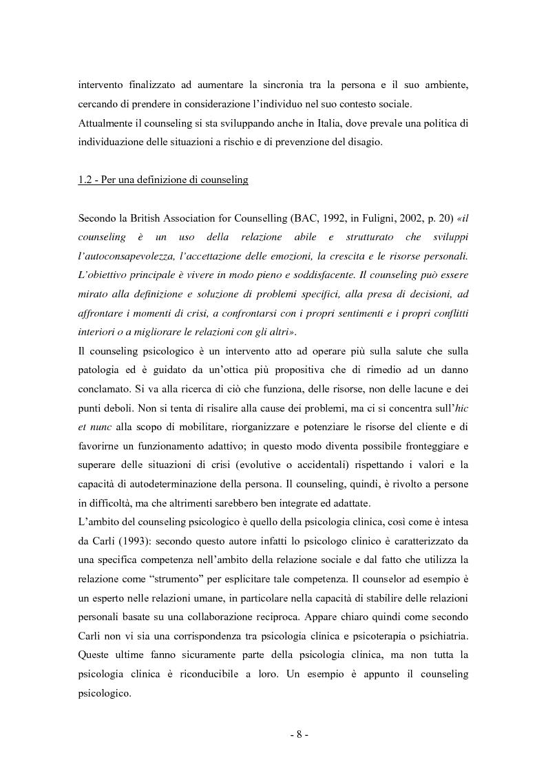 Anteprima della tesi: SMS e relazione d'aiuto: il caso di @gile, un servizio d'ascolto, Pagina 4