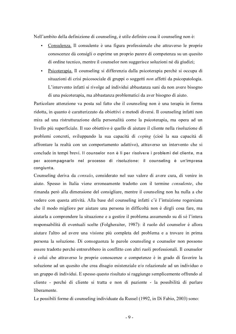 Anteprima della tesi: SMS e relazione d'aiuto: il caso di @gile, un servizio d'ascolto, Pagina 5