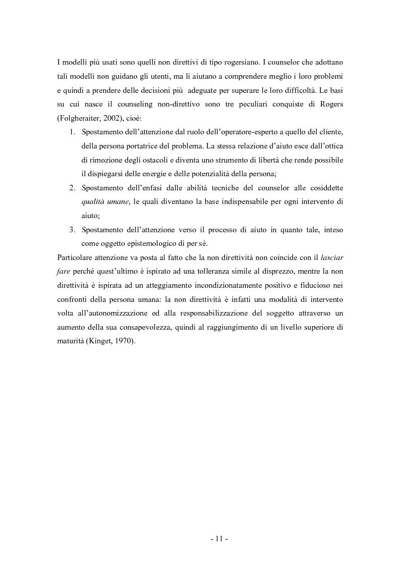 Anteprima della tesi: SMS e relazione d'aiuto: il caso di @gile, un servizio d'ascolto, Pagina 7