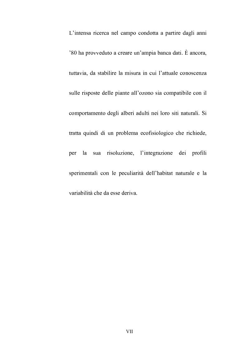 Anteprima della tesi: Effetti dell'ozono atmosferico sulle piante officinali, Pagina 4