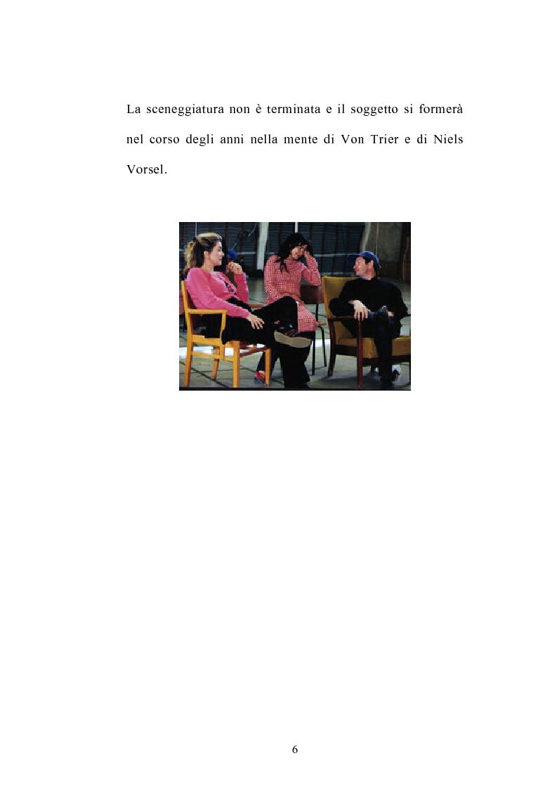 Anteprima della tesi: I germi della realtà: il cinema di Lars von Trier, Pagina 6