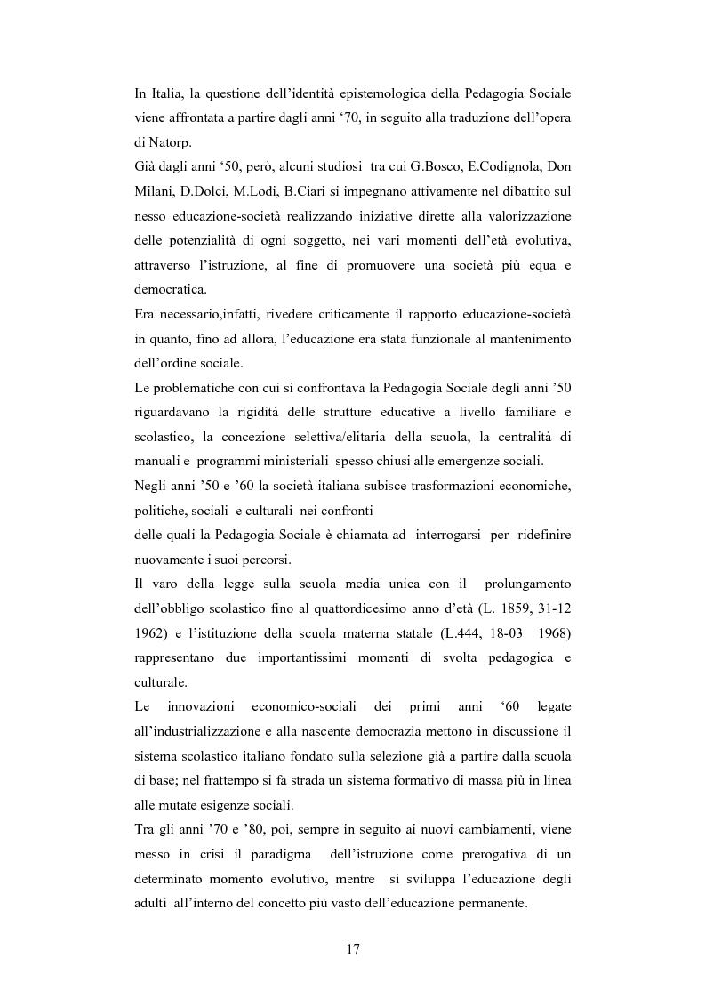 Anteprima della tesi: Il commercio equo e solidale: una prassi pedagogico-sociale, Pagina 11