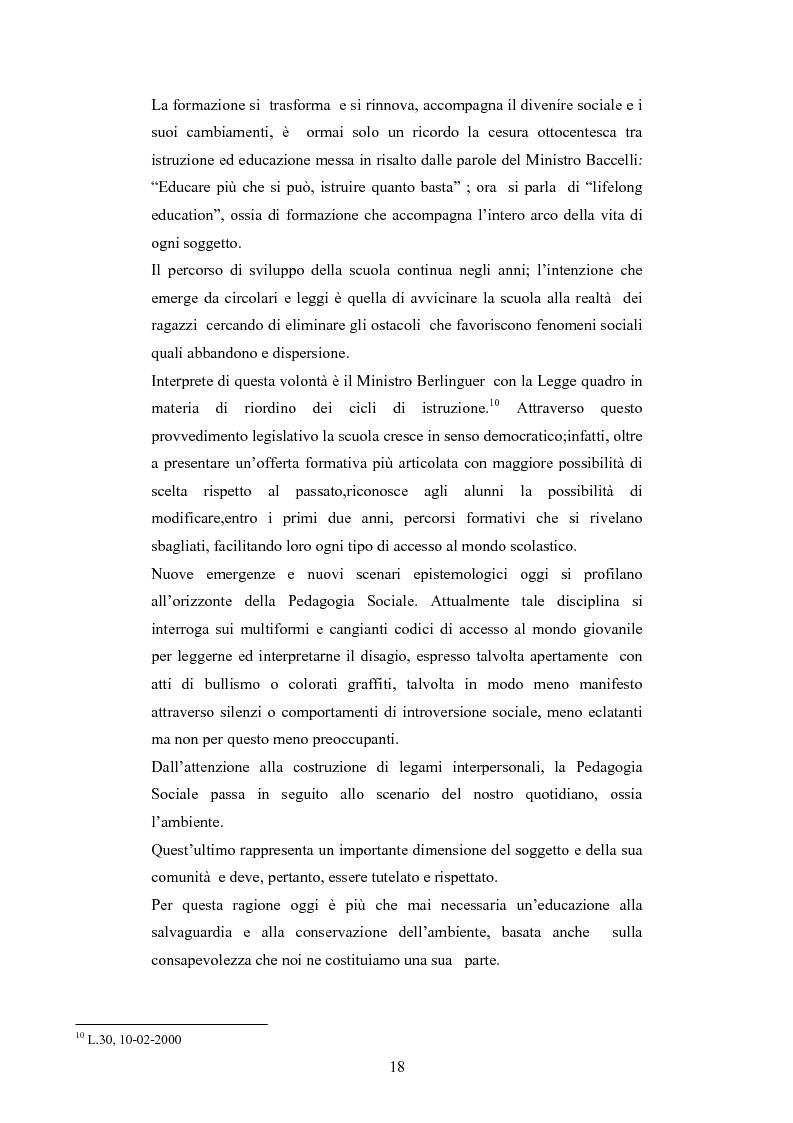 Anteprima della tesi: Il commercio equo e solidale: una prassi pedagogico-sociale, Pagina 12