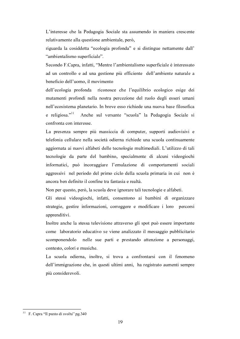 Anteprima della tesi: Il commercio equo e solidale: una prassi pedagogico-sociale, Pagina 13