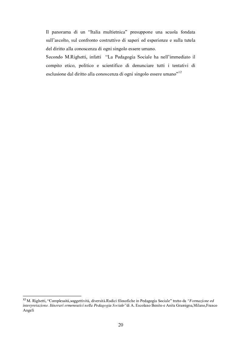 Anteprima della tesi: Il commercio equo e solidale: una prassi pedagogico-sociale, Pagina 14