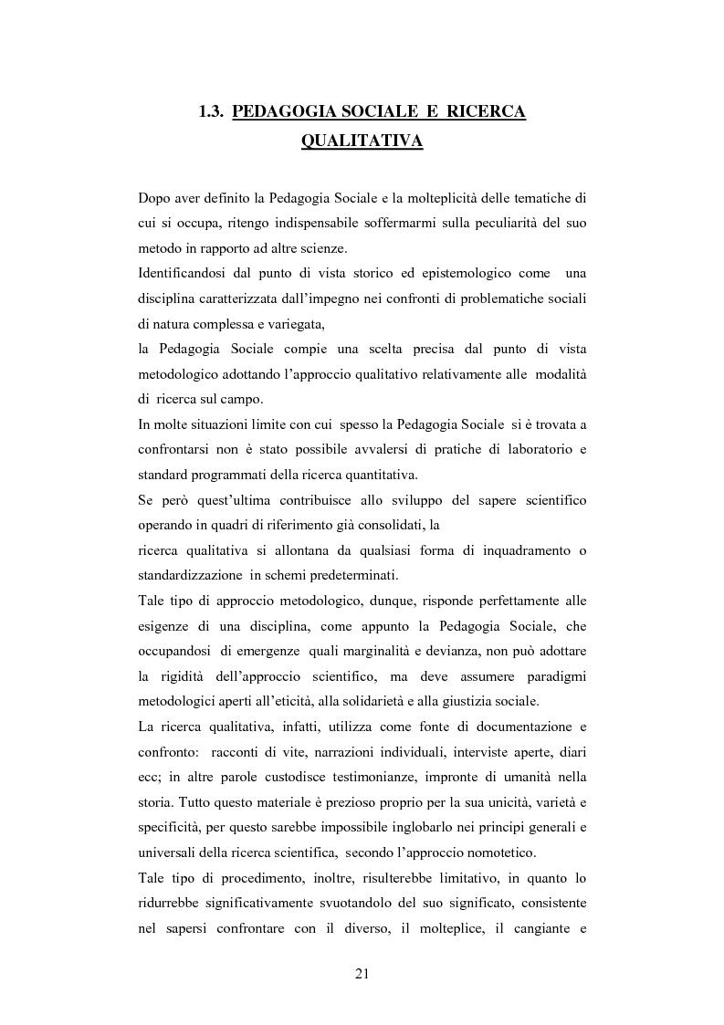 Anteprima della tesi: Il commercio equo e solidale: una prassi pedagogico-sociale, Pagina 15