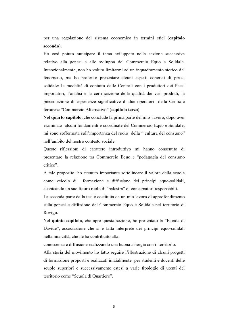 Anteprima della tesi: Il commercio equo e solidale: una prassi pedagogico-sociale, Pagina 2
