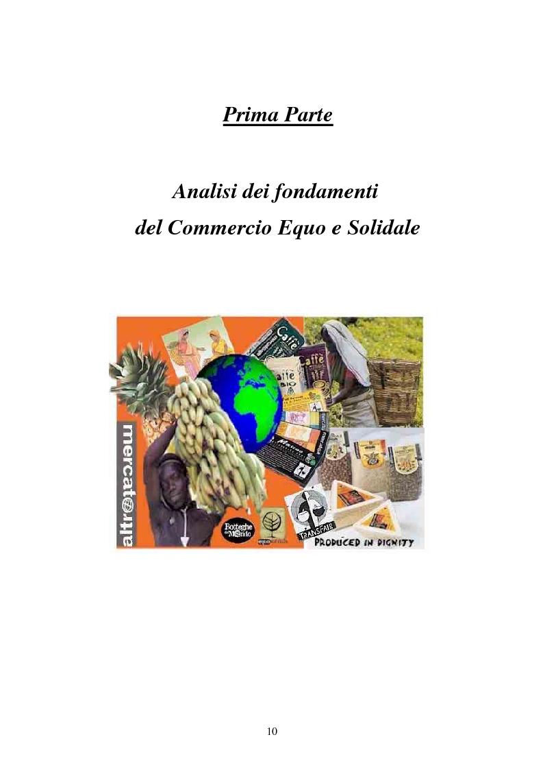 Anteprima della tesi: Il commercio equo e solidale: una prassi pedagogico-sociale, Pagina 4