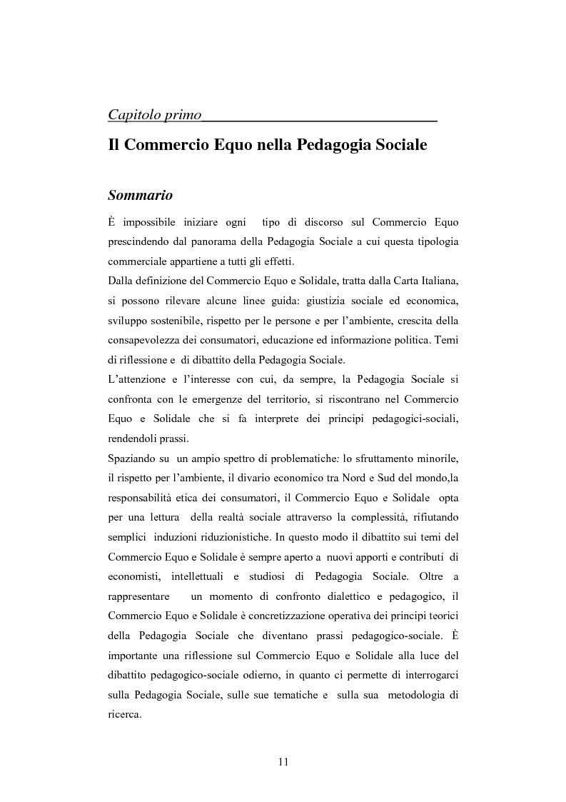 Anteprima della tesi: Il commercio equo e solidale: una prassi pedagogico-sociale, Pagina 5