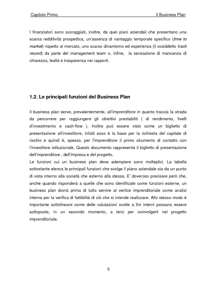 Anteprima della tesi: Business Plan di un'azienda di outsourcing di attività di vendita on-line. Il caso B-commerce, Pagina 10