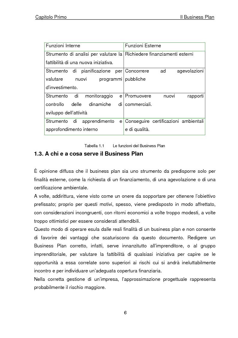 Anteprima della tesi: Business Plan di un'azienda di outsourcing di attività di vendita on-line. Il caso B-commerce, Pagina 11