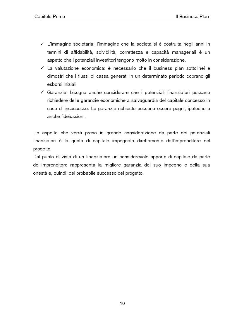 Anteprima della tesi: Business Plan di un'azienda di outsourcing di attività di vendita on-line. Il caso B-commerce, Pagina 15