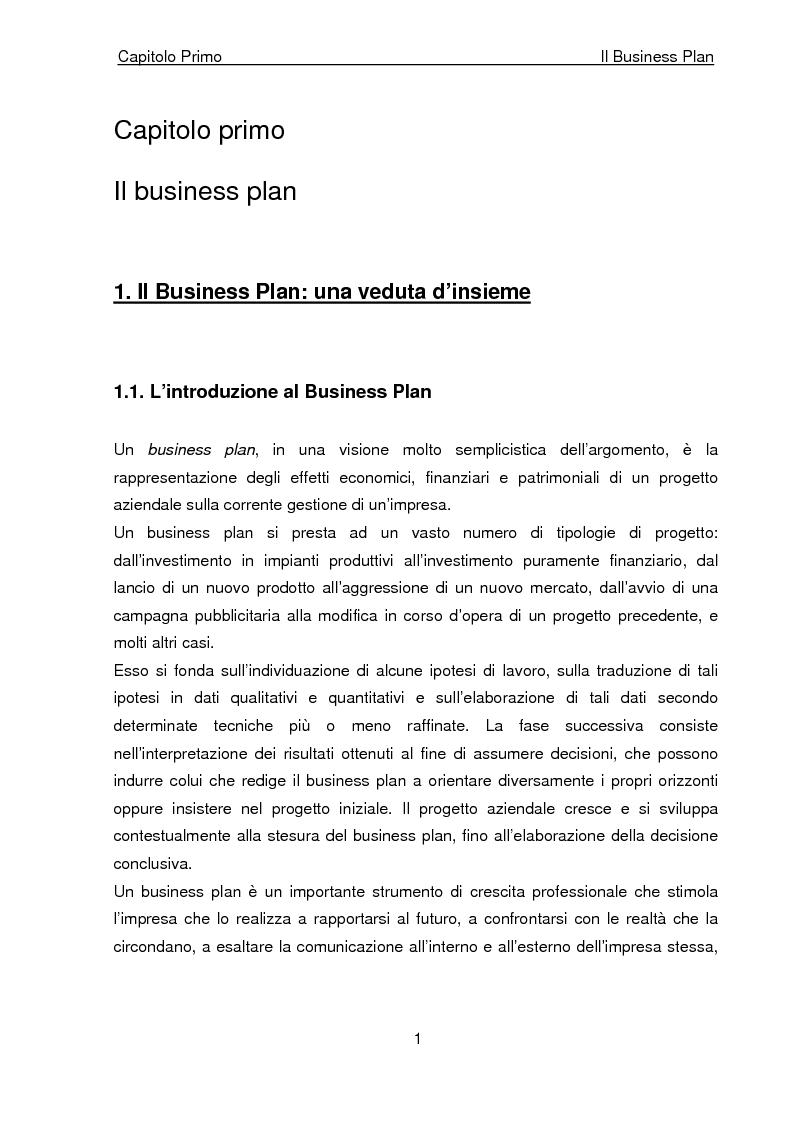 Anteprima della tesi: Business Plan di un'azienda di outsourcing di attività di vendita on-line. Il caso B-commerce, Pagina 6