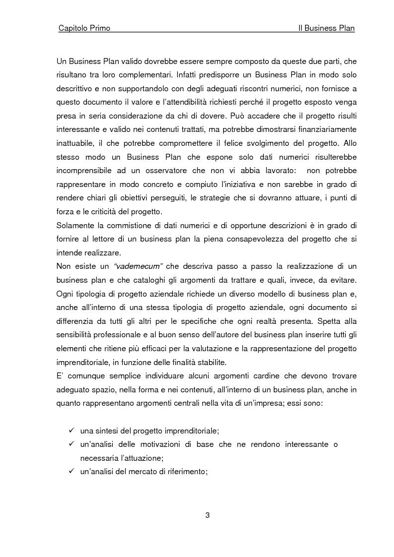 Anteprima della tesi: Business Plan di un'azienda di outsourcing di attività di vendita on-line. Il caso B-commerce, Pagina 8
