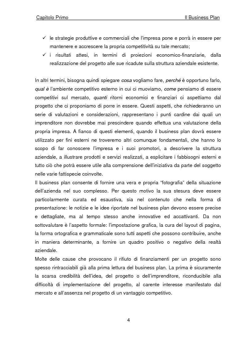 Anteprima della tesi: Business Plan di un'azienda di outsourcing di attività di vendita on-line. Il caso B-commerce, Pagina 9