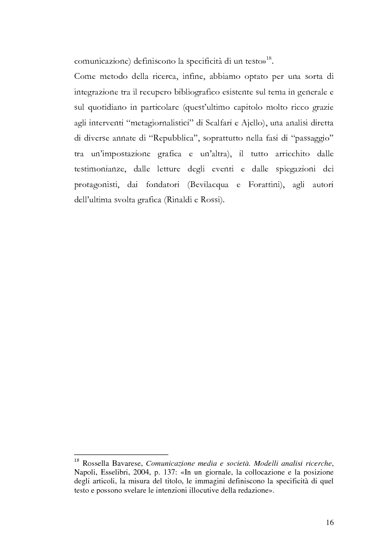 Anteprima della tesi: La storia grafica del quotidiano ''la Repubblica'', Pagina 10
