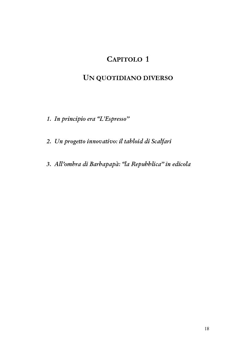 Anteprima della tesi: La storia grafica del quotidiano ''la Repubblica'', Pagina 12