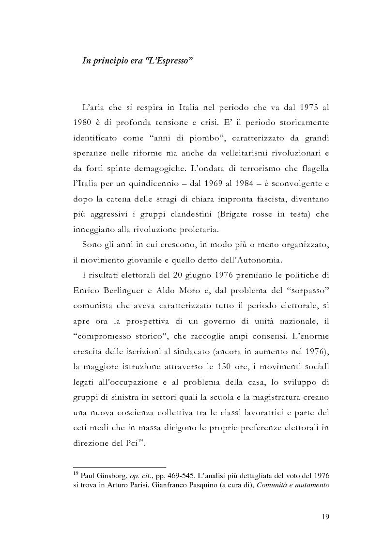 Anteprima della tesi: La storia grafica del quotidiano ''la Repubblica'', Pagina 13