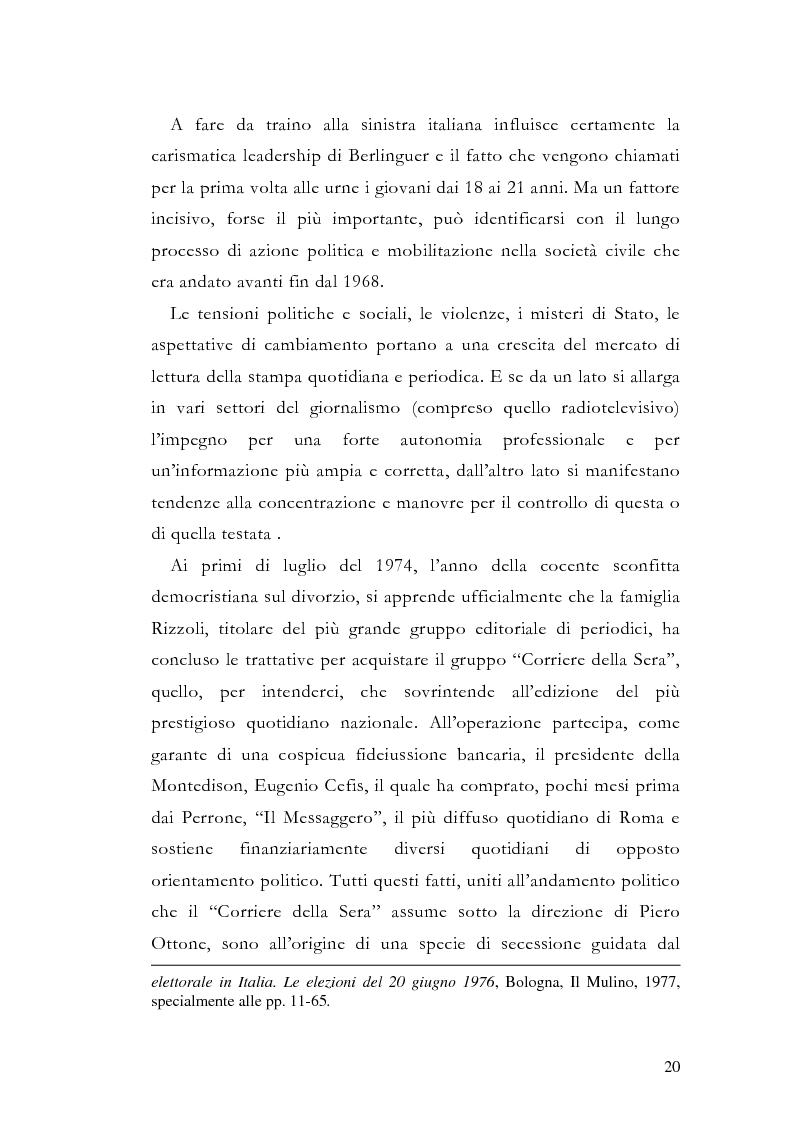Anteprima della tesi: La storia grafica del quotidiano ''la Repubblica'', Pagina 14