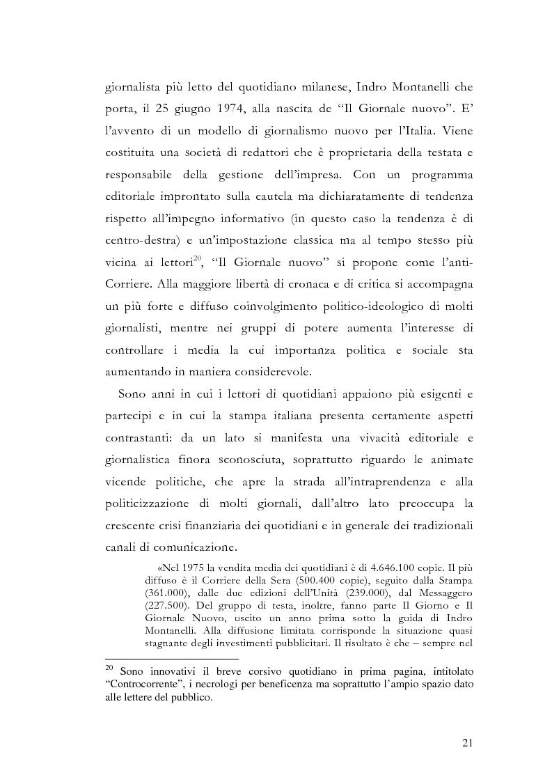 Anteprima della tesi: La storia grafica del quotidiano ''la Repubblica'', Pagina 15