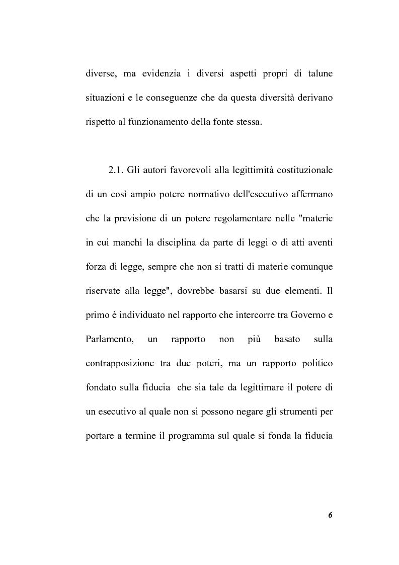 Anteprima della tesi: Il potere regolamentare delle autorità indipendenti, Pagina 6