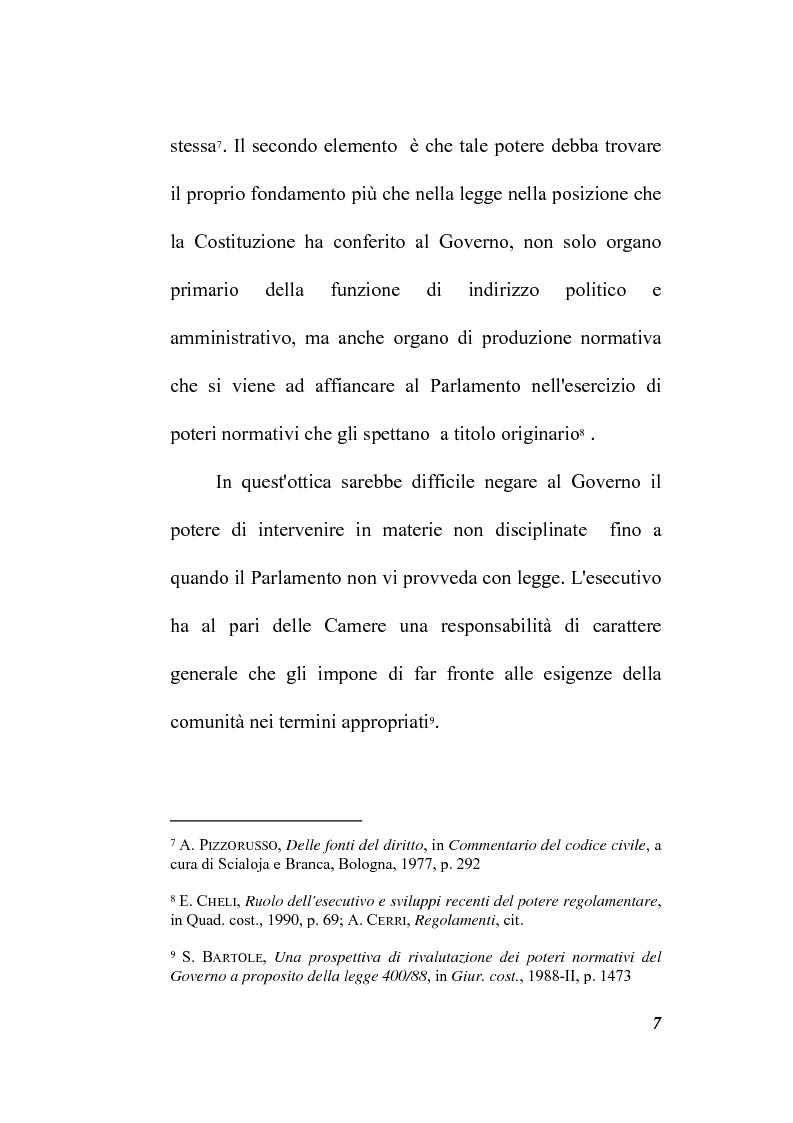 Anteprima della tesi: Il potere regolamentare delle autorità indipendenti, Pagina 7