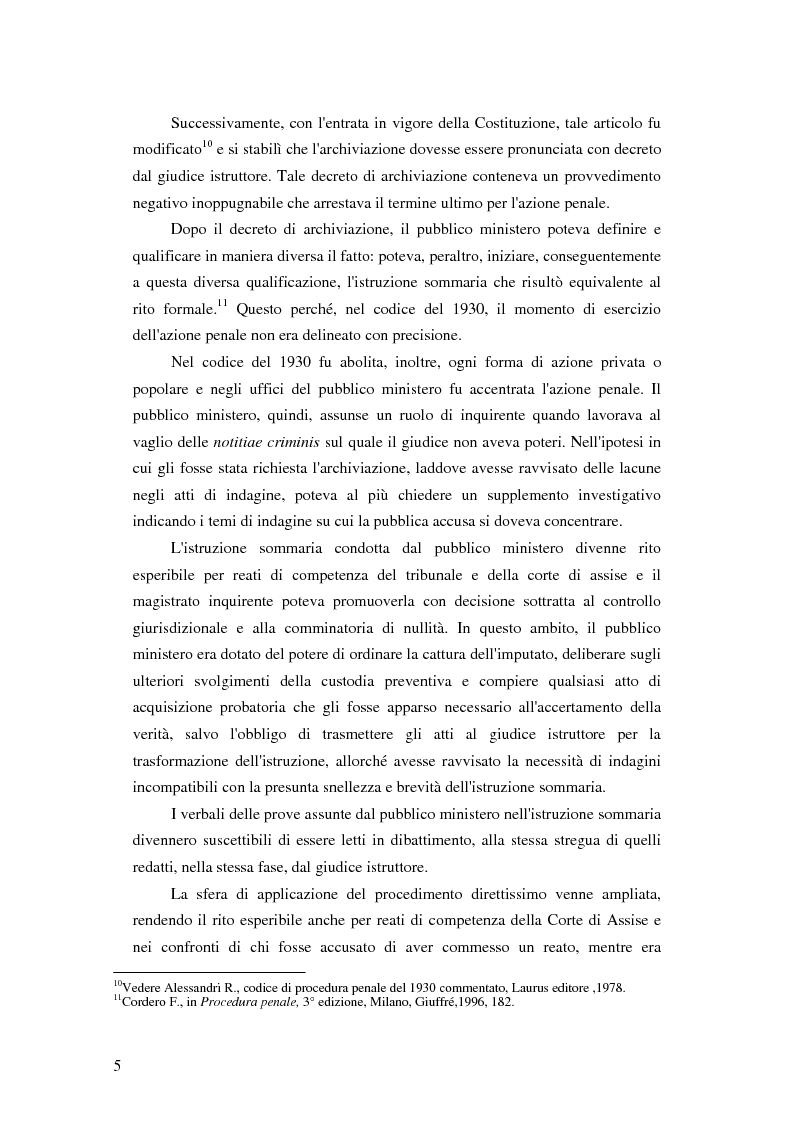 Anteprima della tesi: La posizione del pubblico ministero nell'ordinamento giuridico italiano. Profili costituzionali, Pagina 4