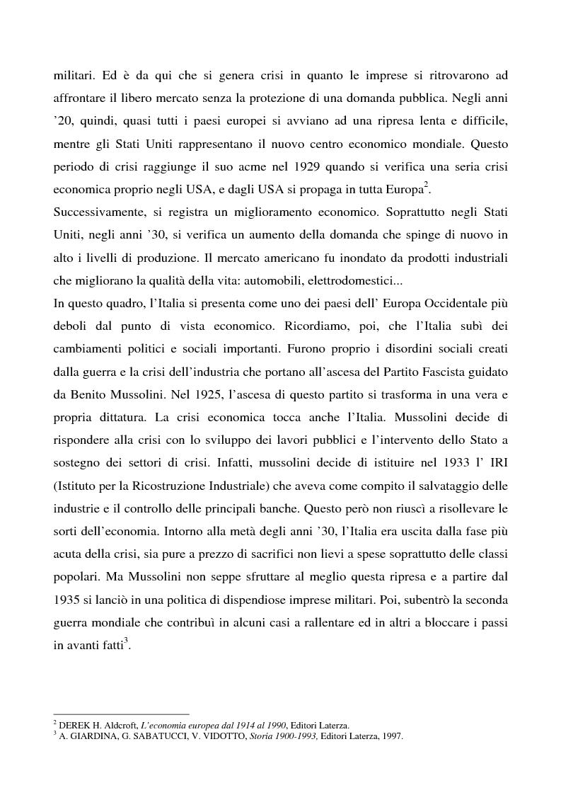 Anteprima della tesi: Cosa bolle in pentola? Il caso Barilla: 125 anni di comunicazione sempre al dente., Pagina 2