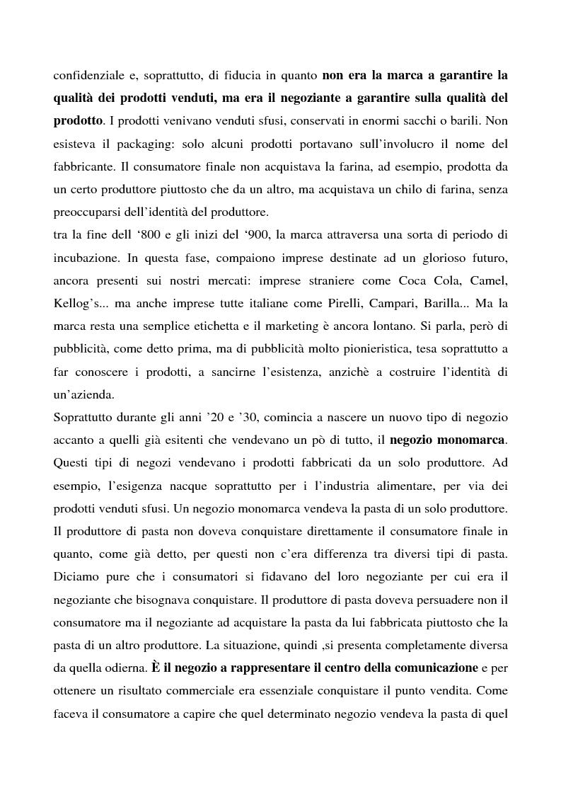 Anteprima della tesi: Cosa bolle in pentola? Il caso Barilla: 125 anni di comunicazione sempre al dente., Pagina 6
