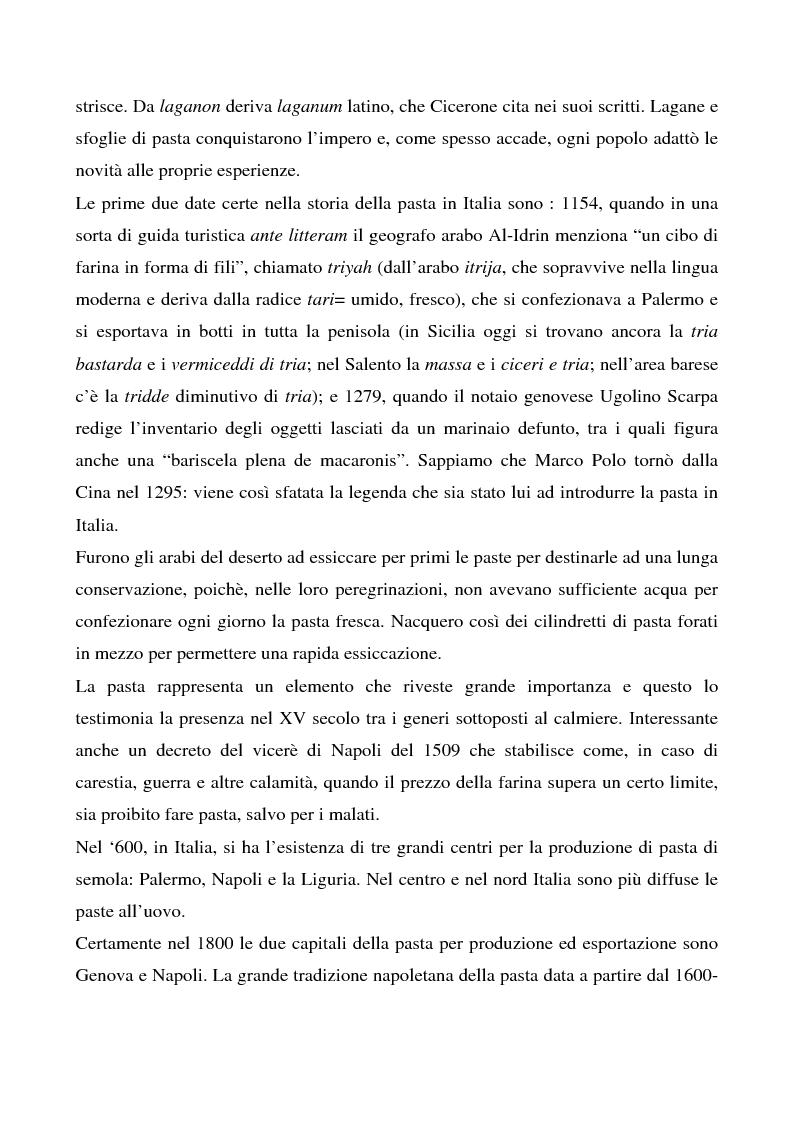 Anteprima della tesi: Cosa bolle in pentola? Il caso Barilla: 125 anni di comunicazione sempre al dente., Pagina 8