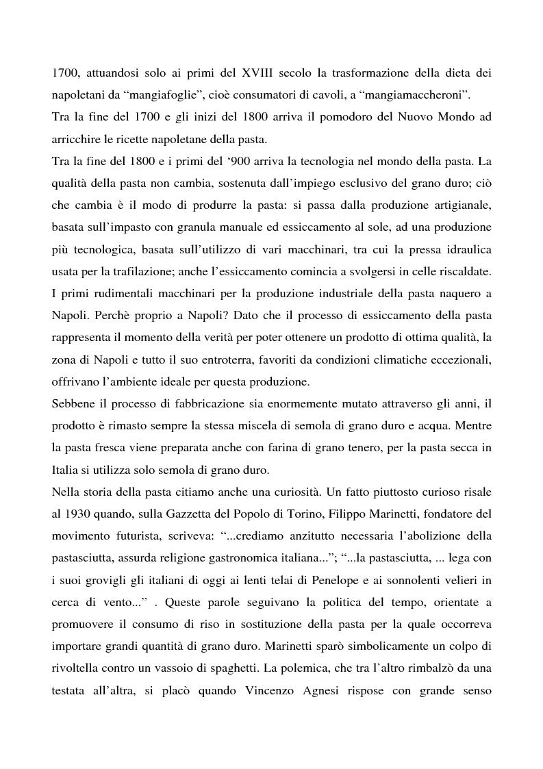 Anteprima della tesi: Cosa bolle in pentola? Il caso Barilla: 125 anni di comunicazione sempre al dente., Pagina 9